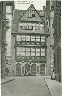 Alt - Frankfurt a. M. Rothschildhaus.