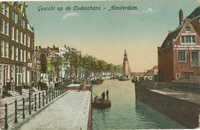 Gezicht op de Oudeschans - Amsterdam