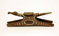 Wooden headrest