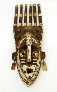Metal face mask (N'domo mask)