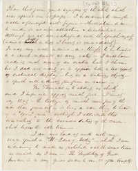314.  Robert Woodward Barnwell to William H. W. Barnwell -- May, 1850?