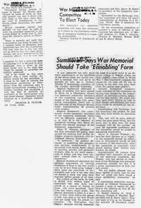 Folder 47: War Memorial Article 16