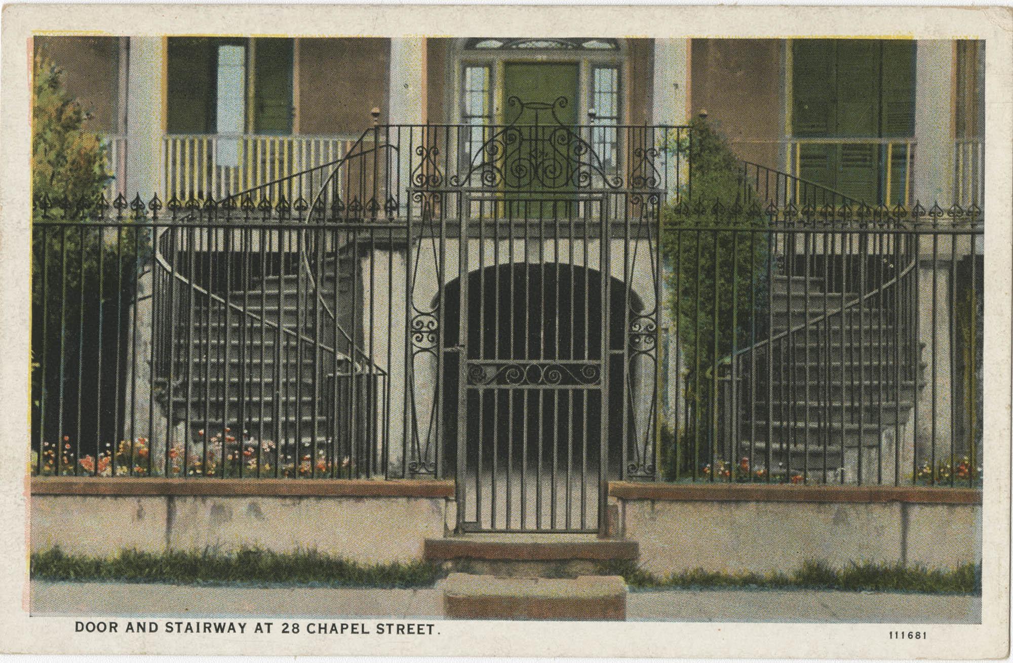 Door and Stairway at 28 Chapel Street