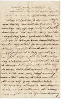 517.  Ann Barnwell Mazyck to Catherine Osborn Barnwell -- ca. 1861