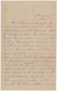 491.  Elizabeth Barnwell to Catherine Osborn Barnwell -- October 26, 1870