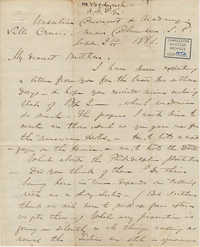 426. Madame Baptiste to Bp Patrick Lynch -- September 2, 1866