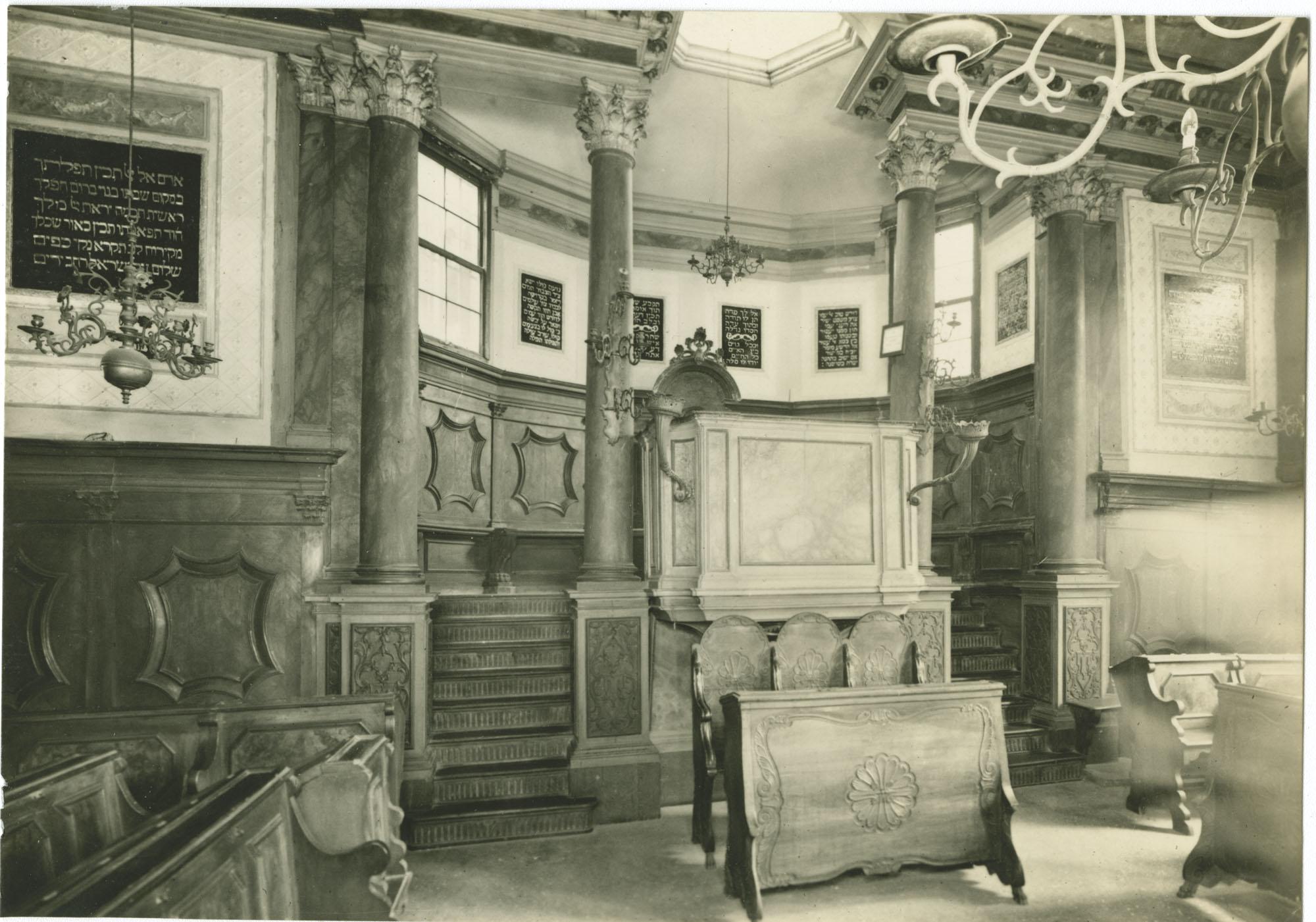Tempio Italiano - Pulpito dell'officiante