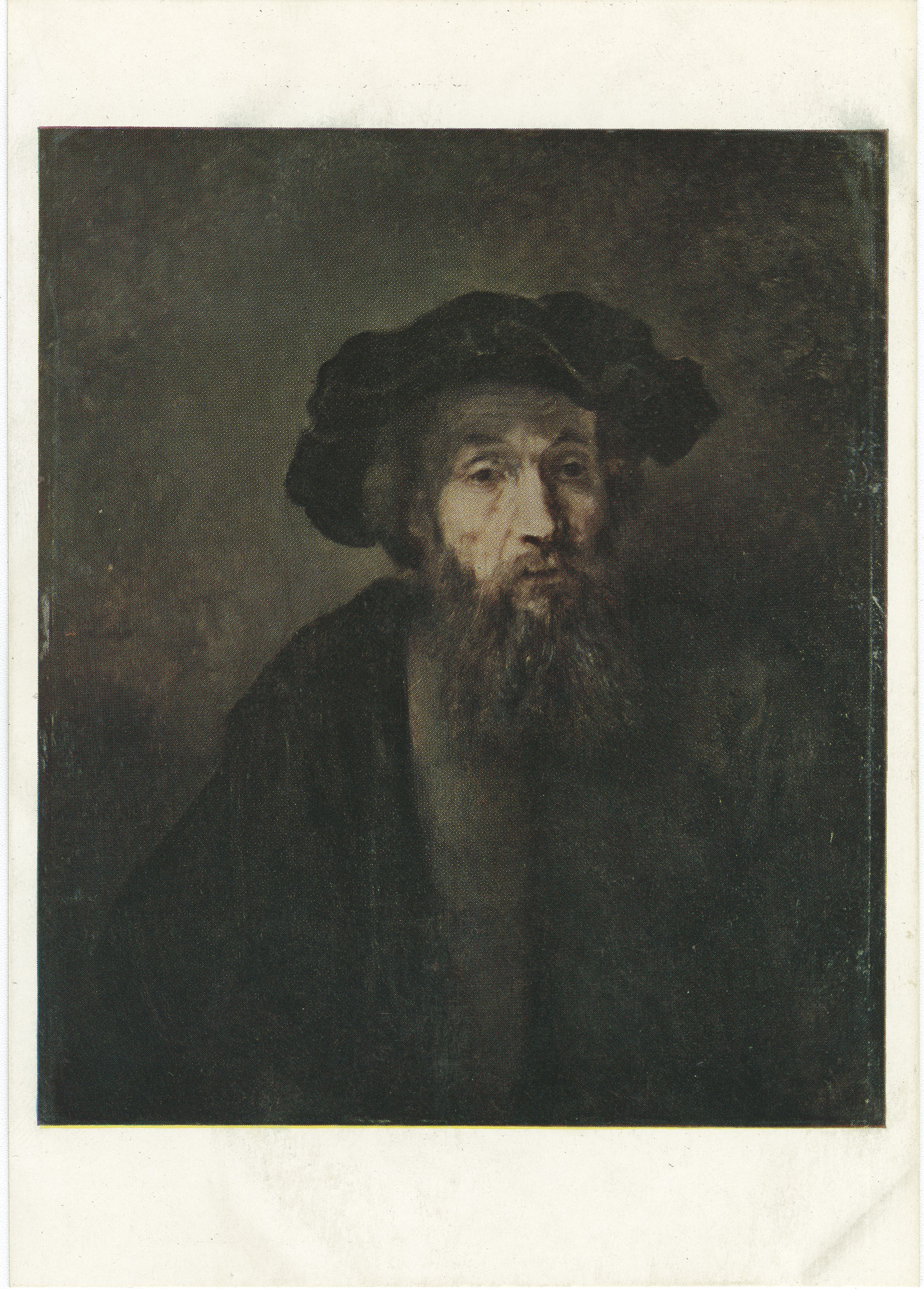 Bust of a Bearded Man in a Cap