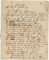 589. Draft of epitaph -- 1840