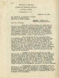 Folder 03: Frederick H. McDonald Letter
