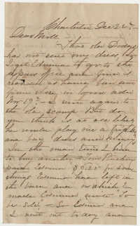 515.  Ann Barnwell Mazyck to Mary Elliott Barnwell -- n.d.