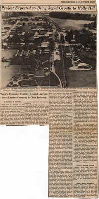 Folders 52-61: Article/Rural SC