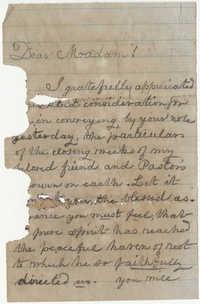216.  W. Michel to Mrs. Fuller -- 1863