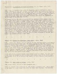 596.  Excerpts on Barnwell history in Ireland -- November, 1964