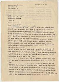 601.  Dora Liersch-Karthaus to Vida Chissolm (Chisholm) -- December 11, 1950