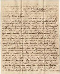 336.  Robert Woodward Barnwell to William H. W. Barnwell -- January 22, 1853