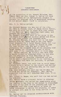 Folders 52-61: Waring Notes
