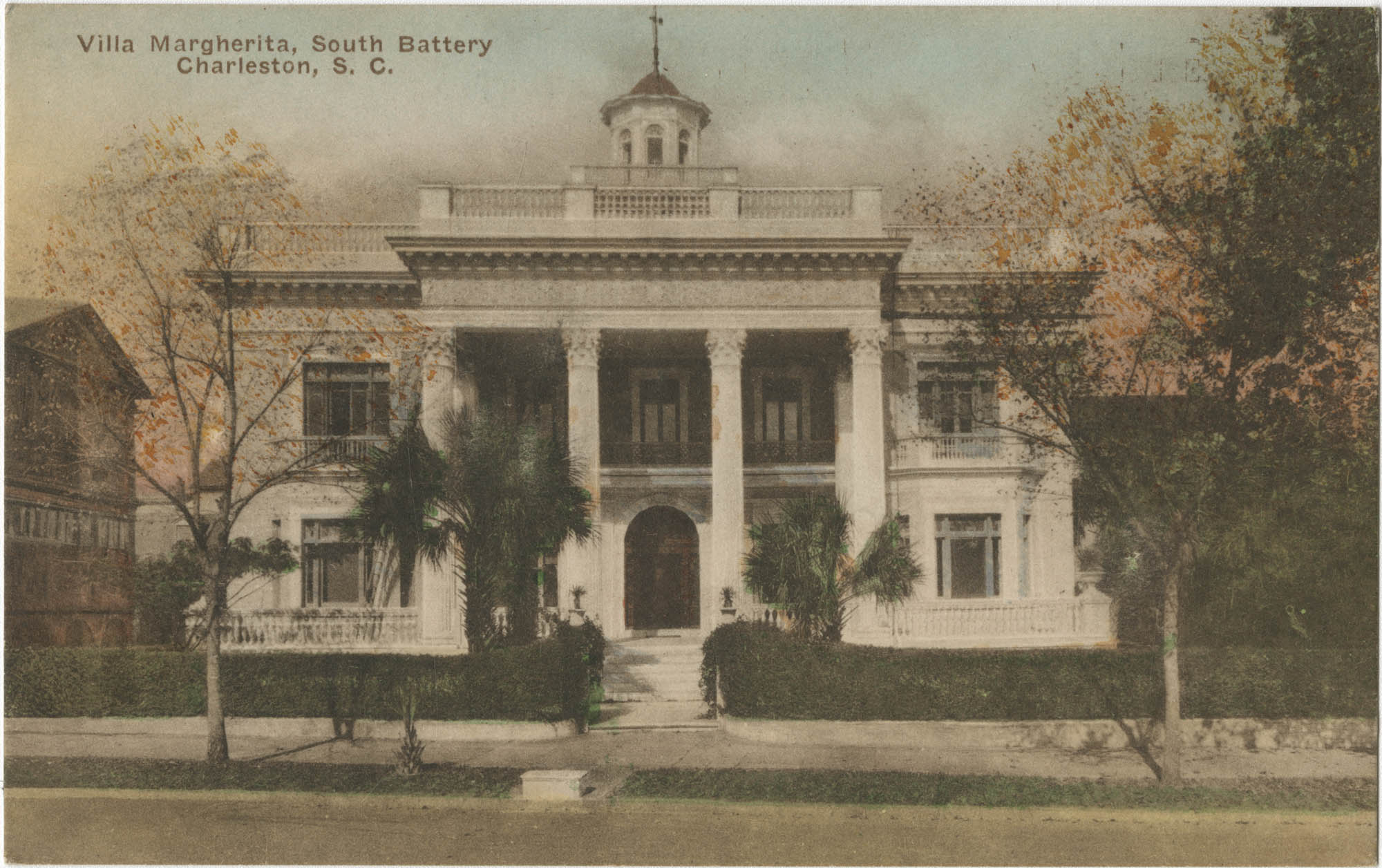 Villa Margherita, South Battery Charleston, S.C.