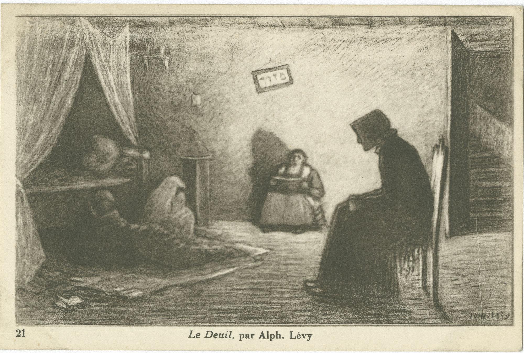 Le Deuil, par Alph. Lévy