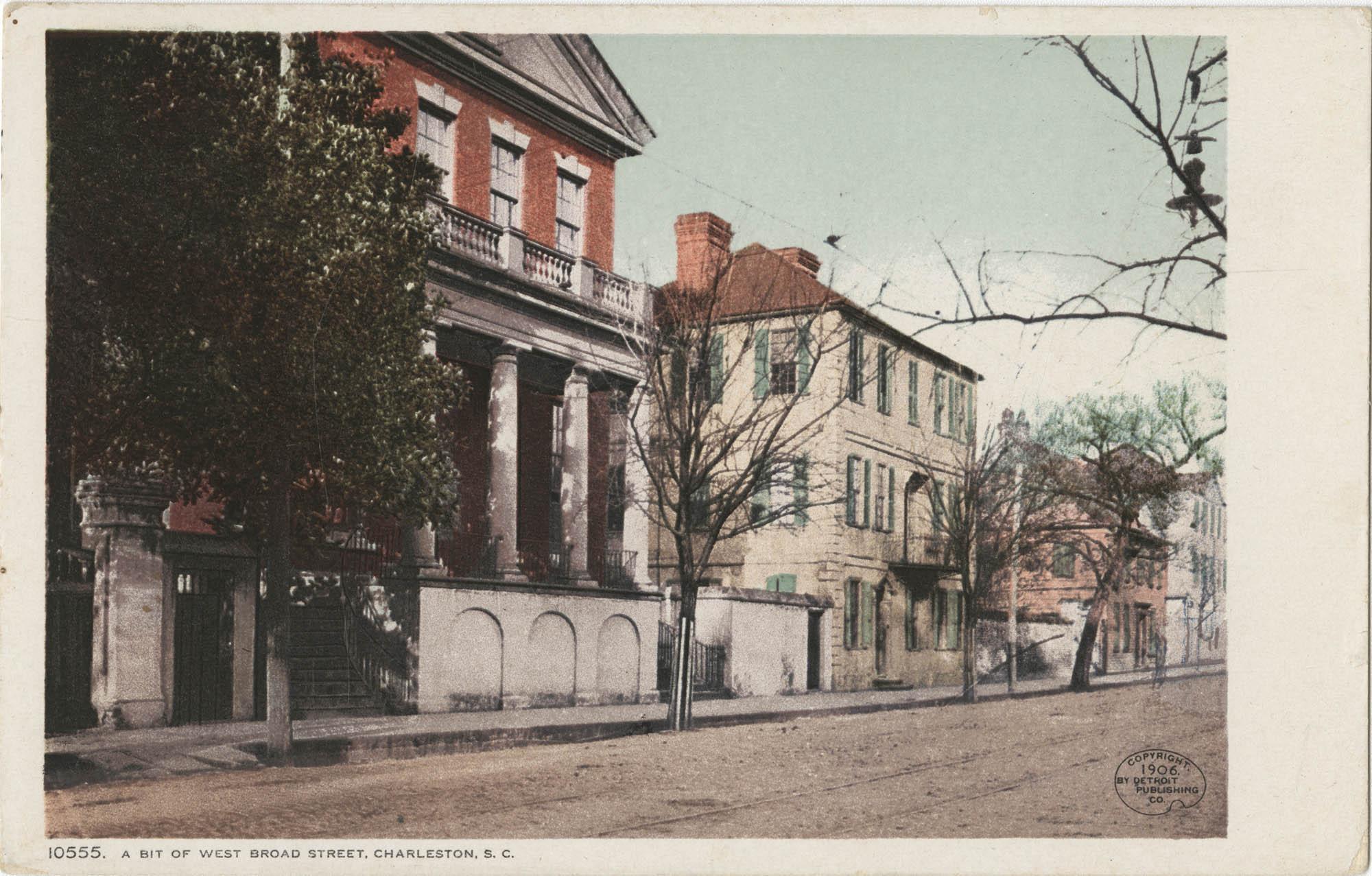 A Bit of West Broad Street, Charleston, S.C.