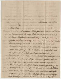 488.  Elizabeth Barnwell to William H. W. Barnwell -- November 30, 1850