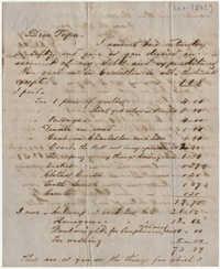 418.  Edward Barnwell to William H. W. Barnwell -- ca. 1852