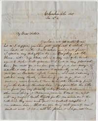 293.  Robert Woodward Barnwell to sisters -- January 15, 1849