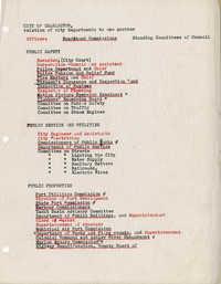 Folders 52-61: City Gov't List