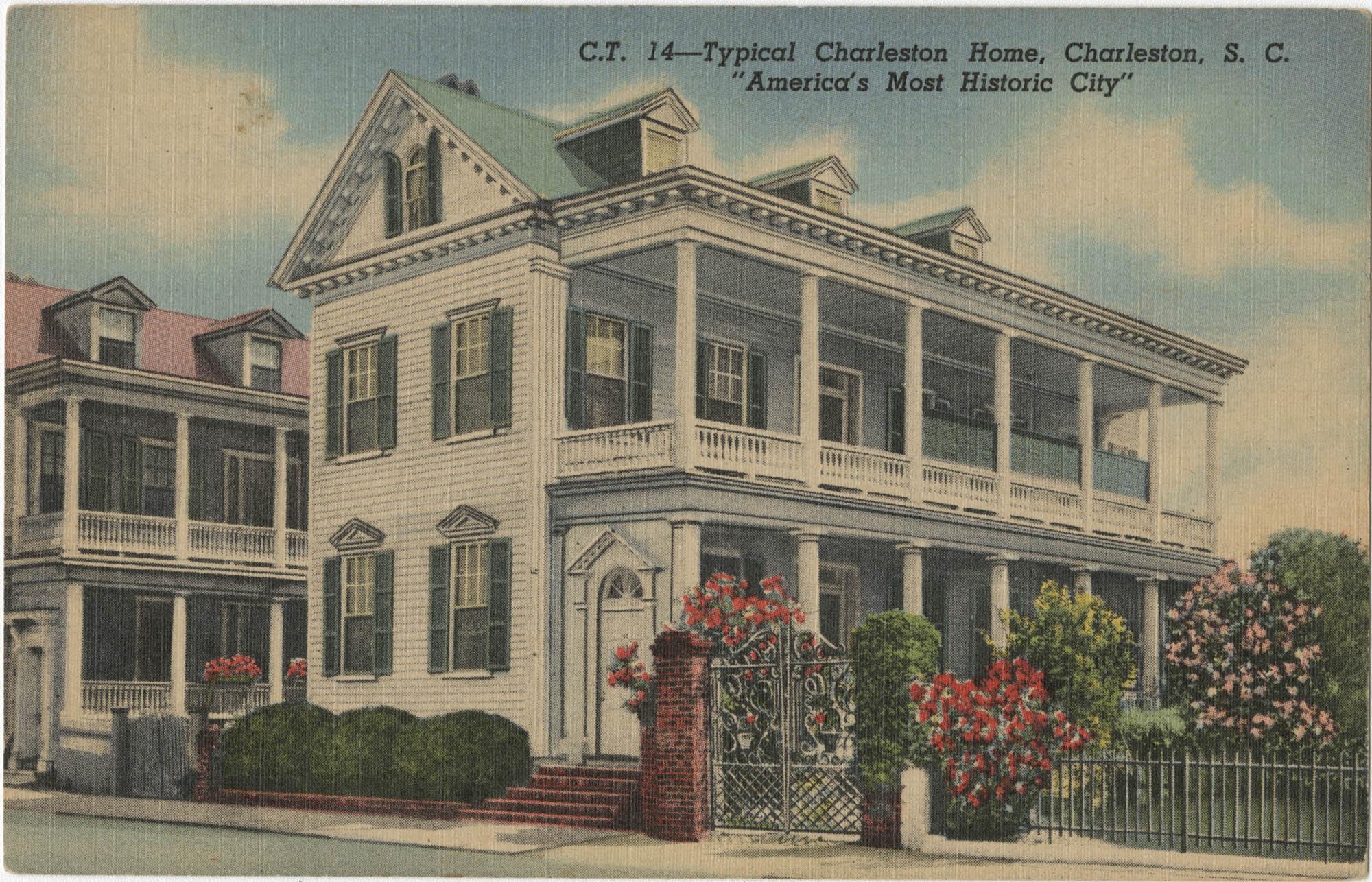 Typical Charleston Home, Charleston, S.C.