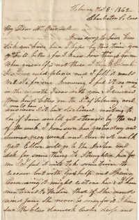 208.  Catherine Jordan to Catherine Osborn Barnwell -- February 8, 1862