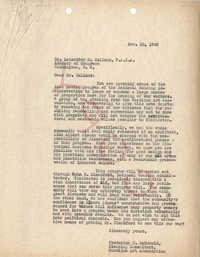 Folders 52-61: McDonald Letter 2