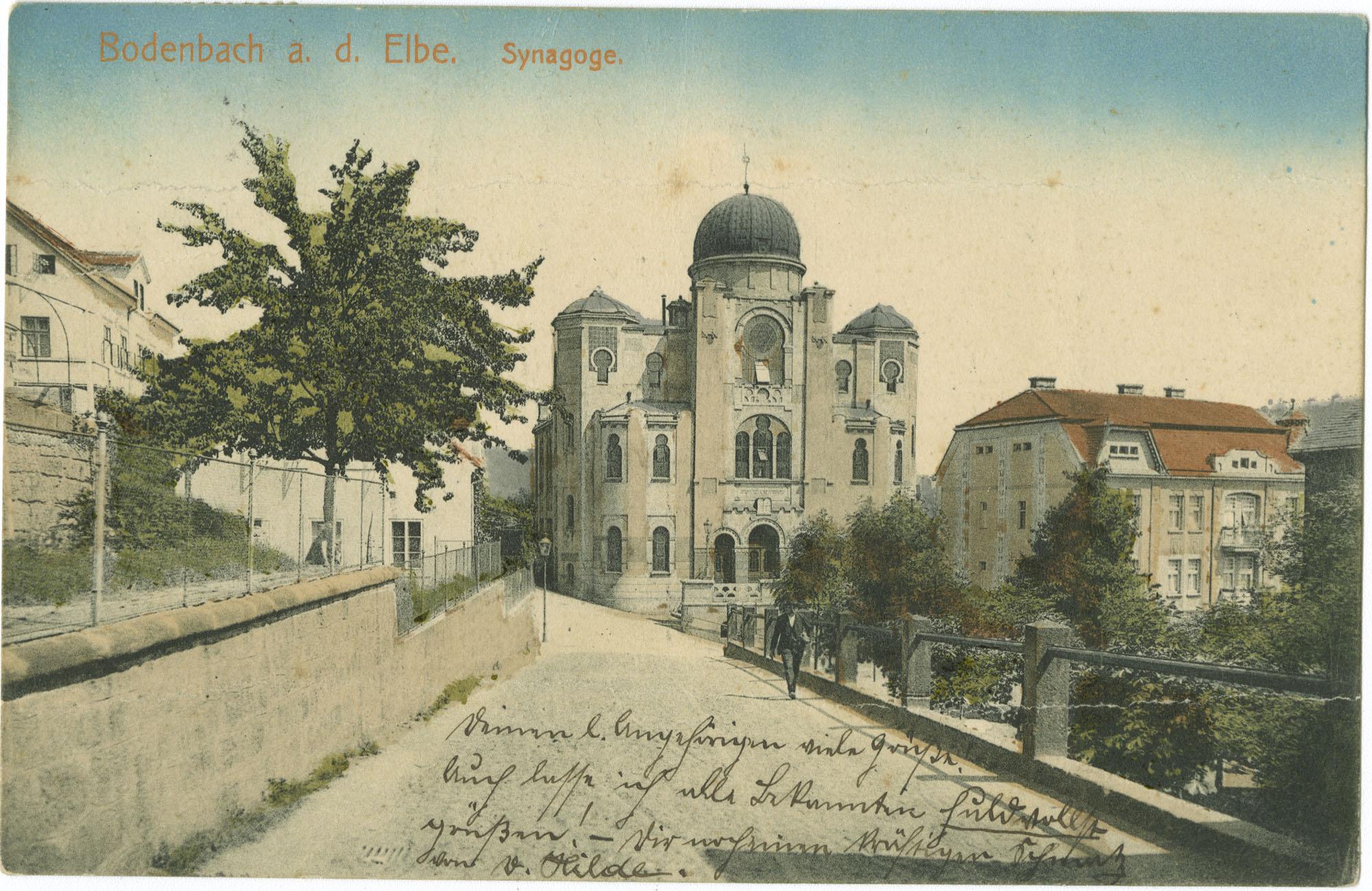Bodenbach a. d. Elbe. Synagoge.