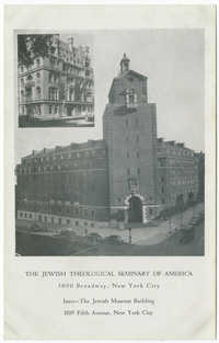 The Jewish Theological Seminary of America
