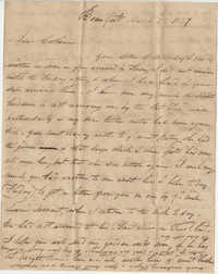 221.  Edward Barnwell to Catherine Osborn Barnwell -- March 2, 1827