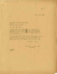 Folder 20: Whitelaw Letter 13