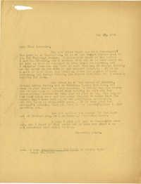 Folder 21: McCormack Letter 1