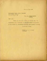 Folder 32: Whitelaw Letter 1