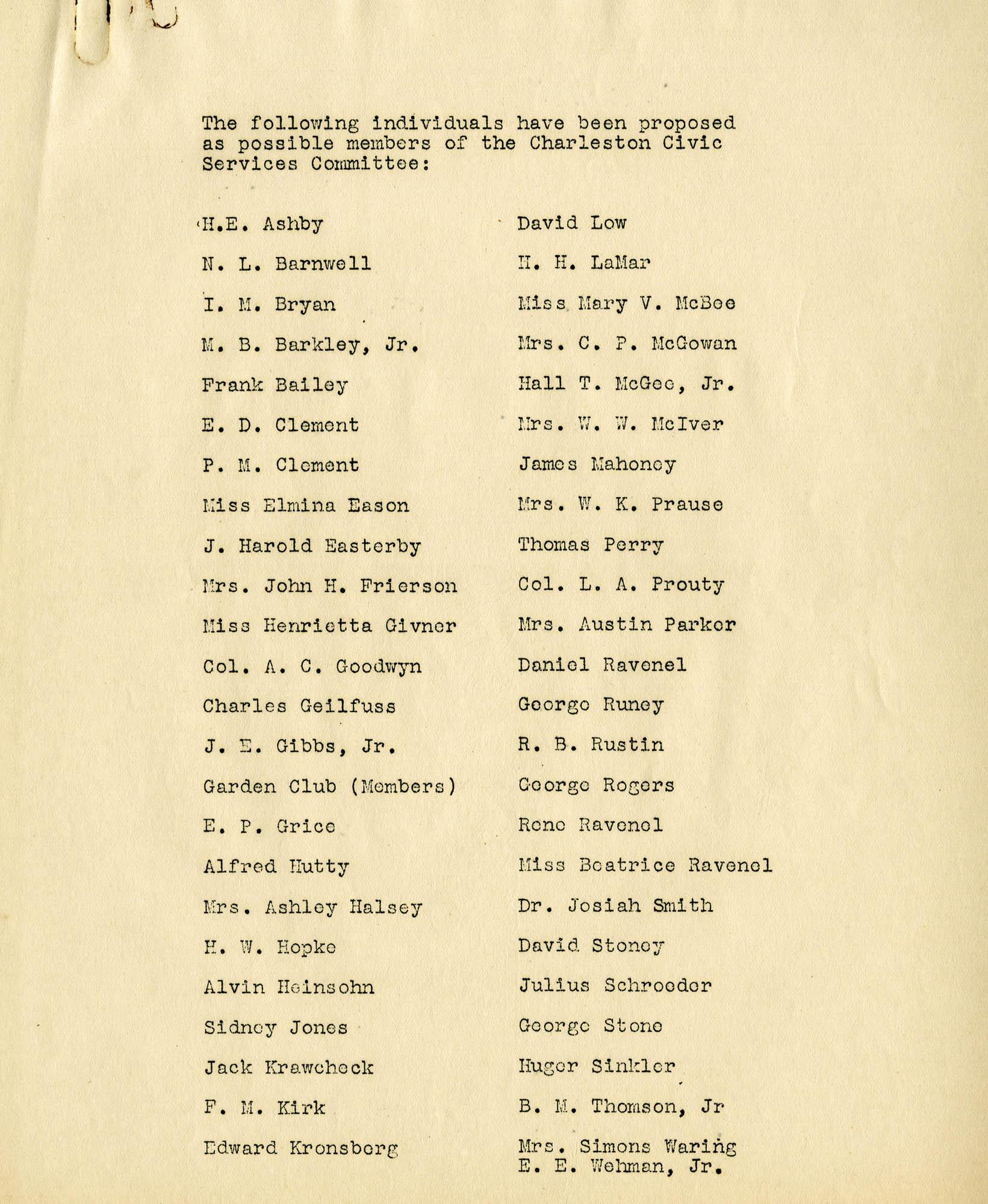 Folder 04: CSC Membership List 7