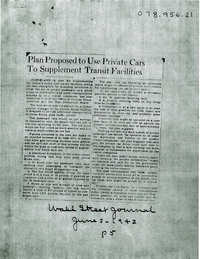 Folder 44: Newspaper Article 1