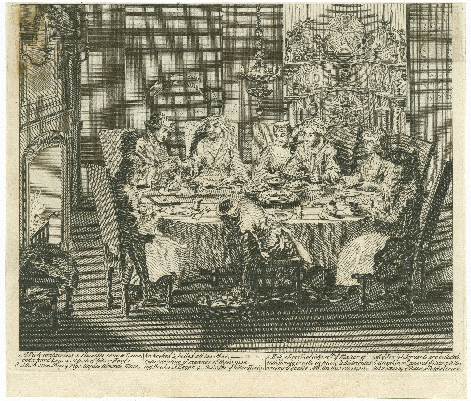 [The Passover of the Portuguese Jews]