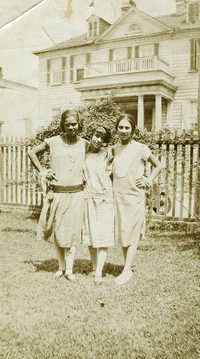 Three Female Avery Students