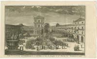 Vue de la Cour Intérieure, de l'Autel &c. dans le Sacrifice à la Fête des Tabernacles