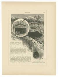 Felsengräber im Norden von Jerusalem