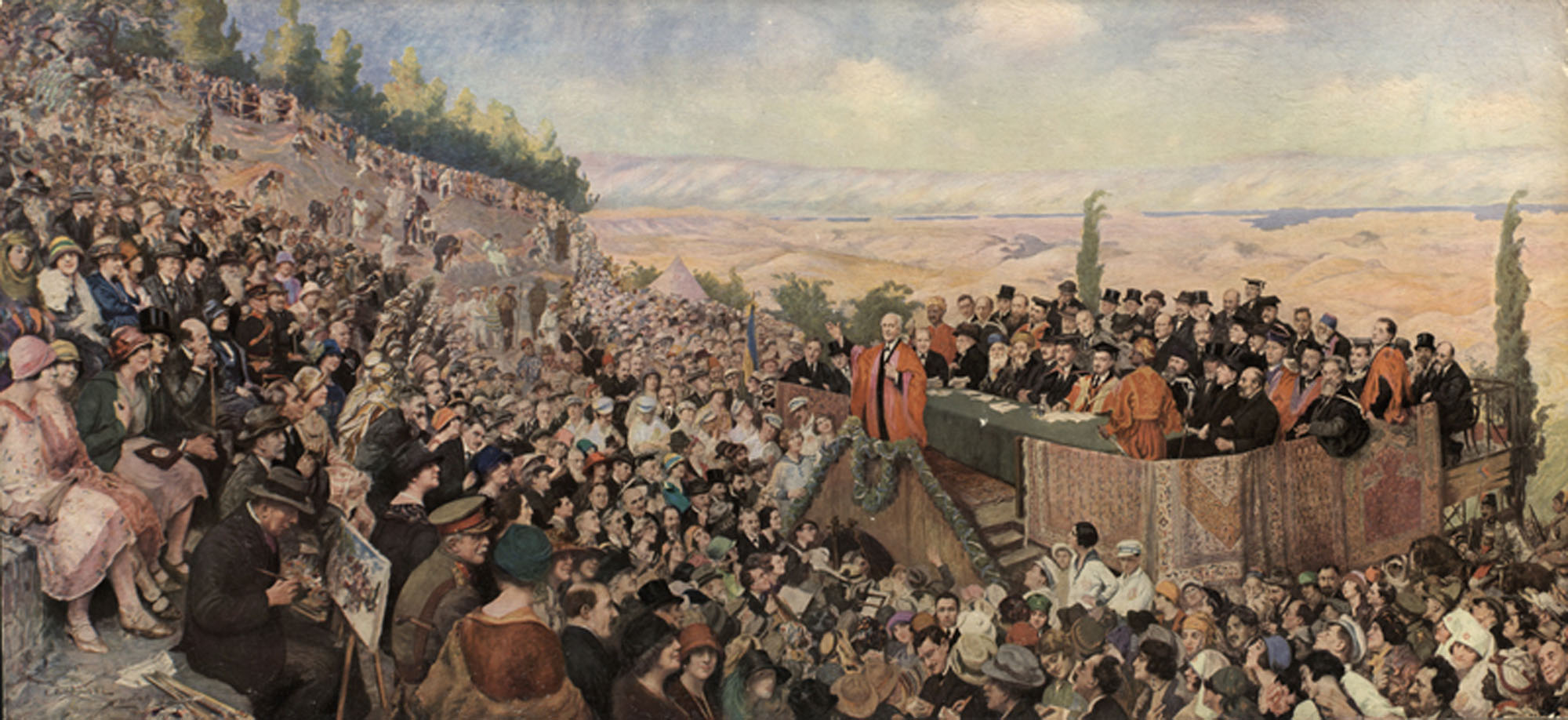 [The Opening of the Hebrew University in Jerusalem]
