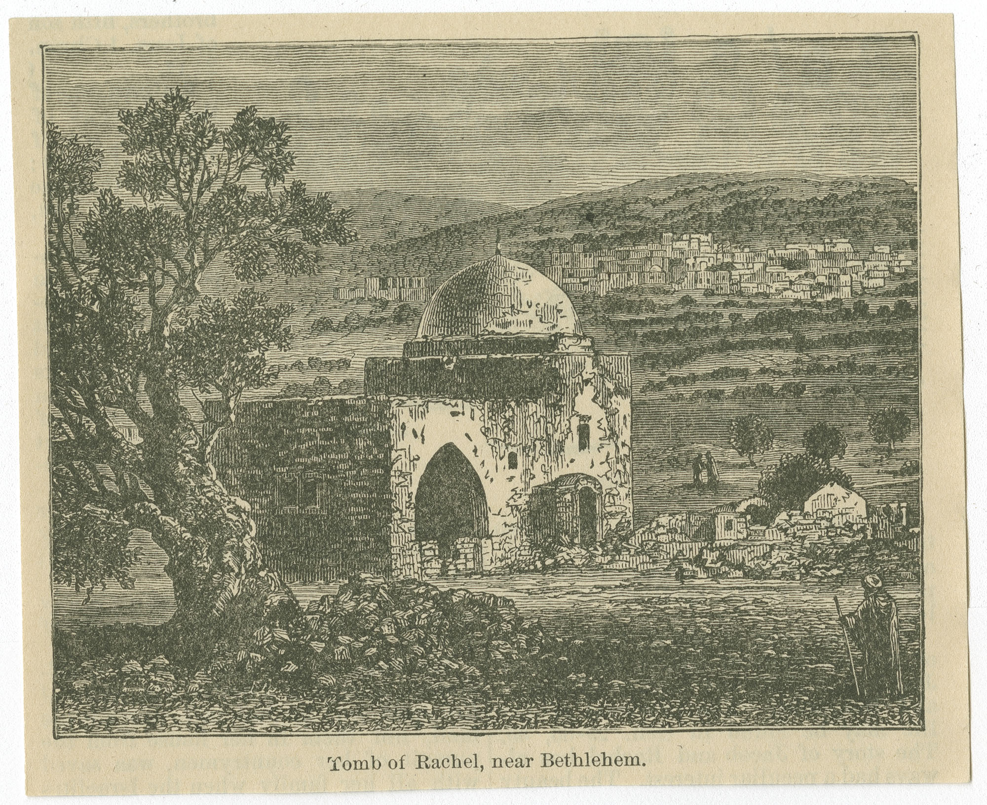 Tomb of Rachel, near Bethlehem