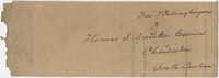 Thomas S. Grimke Autograph Collection, autograph of Frederick Frelinghuysen, New Jersey Senator, undated