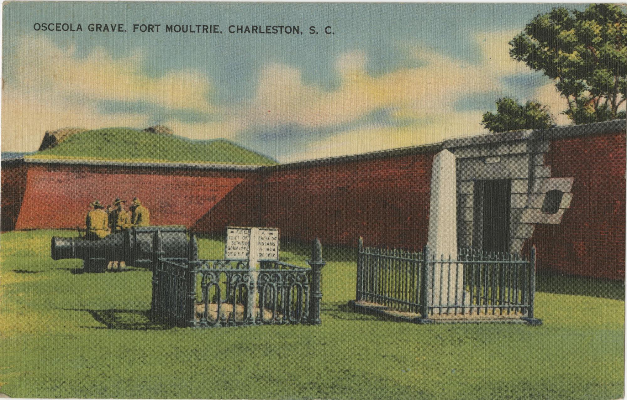 Osceola Grave, Fort Moultrie, Charleston, S.C.