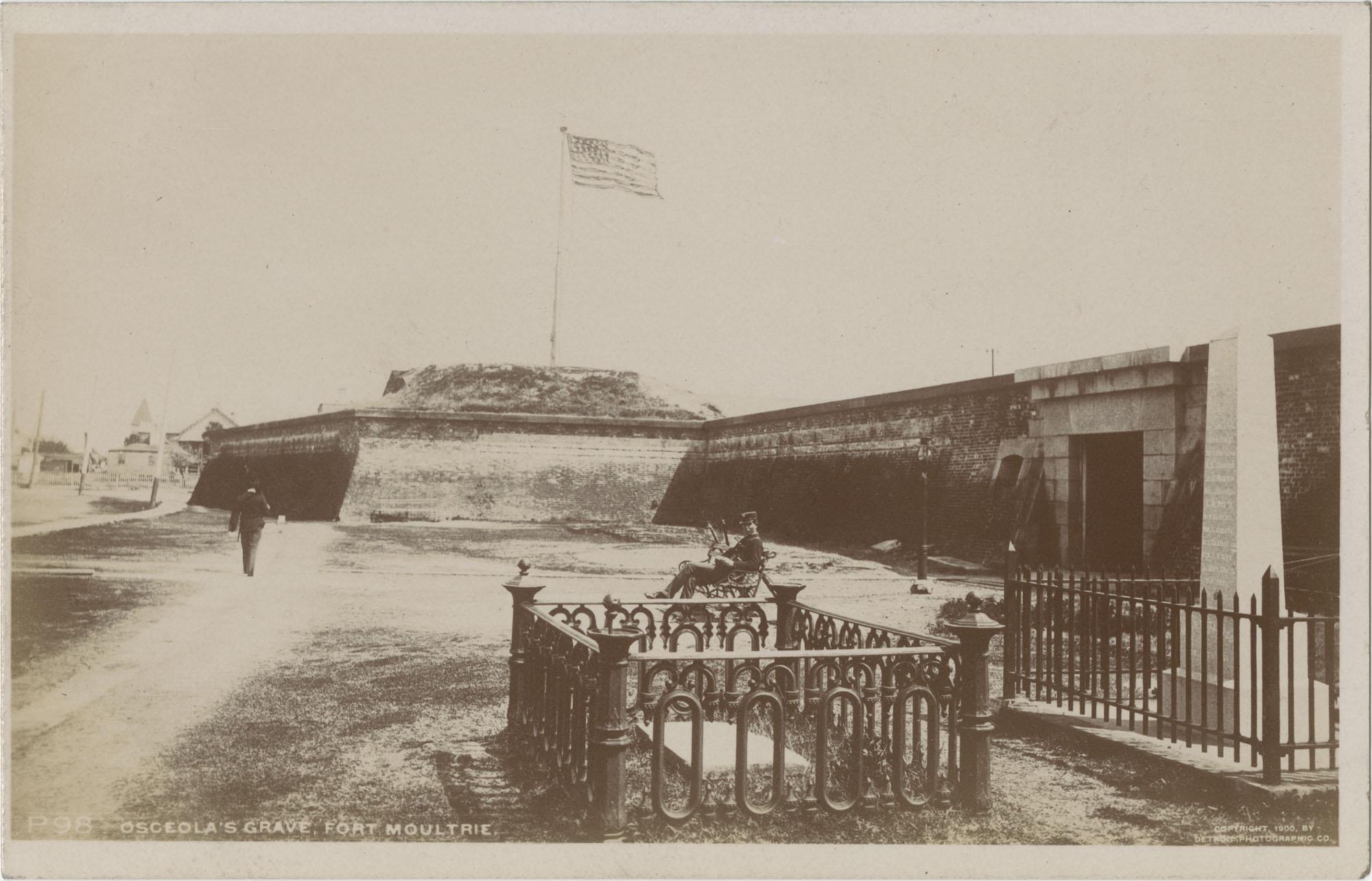 Osceola's Grave, Fort Moultrie