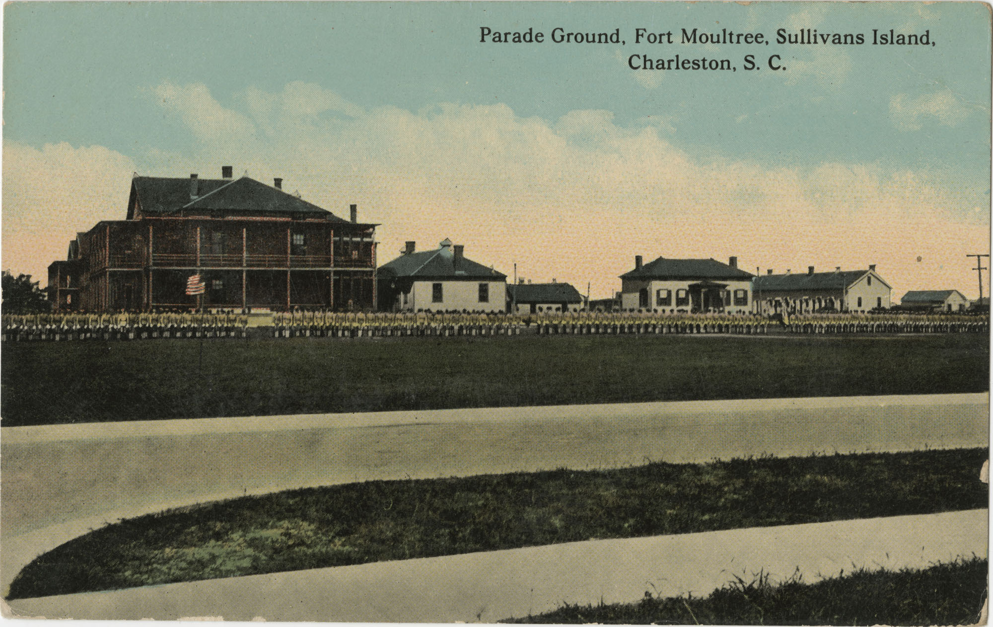 Parade Ground, Fort Moultrie, Sullivans Island, Charleston, S.C.