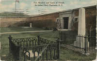Fort Moultrie and Grave of Oceola the Indian Chief, Charleston, S.C.